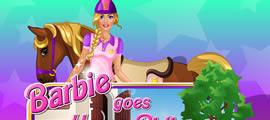 Barbie geht reiten
